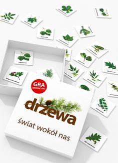 Drzewa. Świat wokół nas – gra edukacyjna - Jacobsony - PolishDesignNow.com