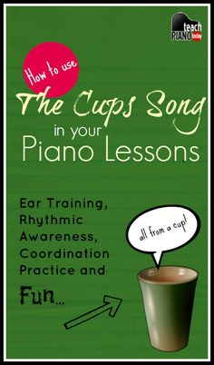 cup song ideas for piano theory Piano Games, Piano Music, Music Games, Music Wall, Rhythm Games, Piano Lessons For Kids, Music Lessons, Cup Song, Piano Classes