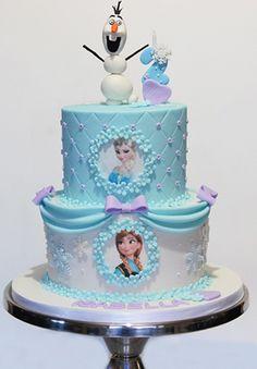 Risultati immagini per cake design frozen