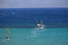 Island of Paros - known as a windsurfer's paradise (among other things), it is a beautiful place for summer vaca and alternative activities.