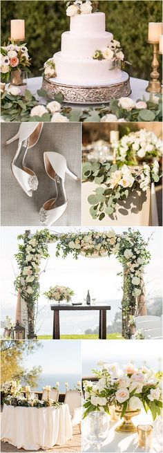 outdoor wedding reception and ceremony idea; featured photographer: Stewart Uy Photography