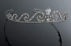 Belle Epoque Diamond Tiara   c.1905