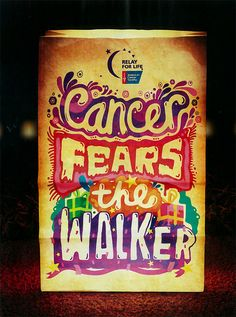 "@Cammeron Ogden for our sign what if I did ""Cancer fears the dancer"""