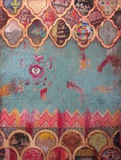 Global Collage   Jill Ricci print pattern