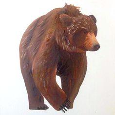 Bear Acrylic on Canvas