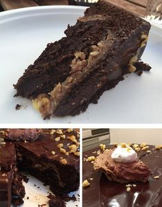 Brownie Walnut Pie Cake   Community Post: 9 Glorious Pie-Cakes To Make For Thanksgiving