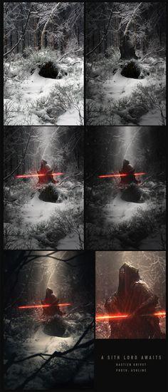 ArtStation - A Sith Lord awaits, Bastien Grivet