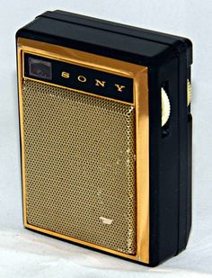Vintage Sony Model Transistor Radio, Broadcast Band Only (MW), 7 Transistors, Made In Japan, Circa