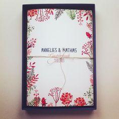 Mino - Paper Sweets °: Annelies ♥ Mathias