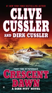 'Crescent Dawn (Dirk Pitt Adventure)' by Clive Cussler and Dirk Cussler ---- Dirk Pitt returns, in the extraordinary new novel from the New York Times-bestselling author. a Roman galley barely. New York Times, Great Books, New Books, Clive Cussler Books, Adventure Novels, Pitta, Book Authors, Fiction Books, Pulp Fiction