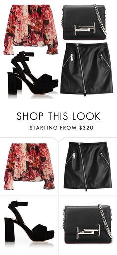 """Untitled #3883"" by evalentina92 ❤ liked on Polyvore featuring Elizabeth and James, Dsquared2, Miu Miu and Tod's"