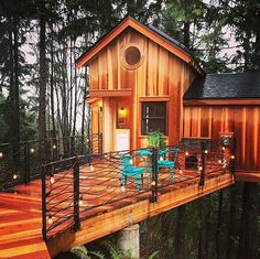 Hands up if you want to come home to this...  @Christinasalway #treehouseclub