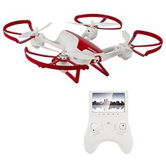 Hornet FPV Drone with 720p HD Camera – Force1 RC Quadcopter with Altitude Hold, Return Home, Headless Mode and One Touch Flips and Tricks - Includes Extra Batteries for Drone and Controller ⋆ skwaredeal.com