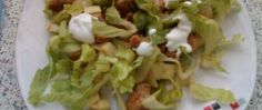 Salát s polníčkem a chia semínky Tzatziki, Tacos, Mexican, Chicken, Ethnic Recipes, Food, Fitness, Author, Lasagna