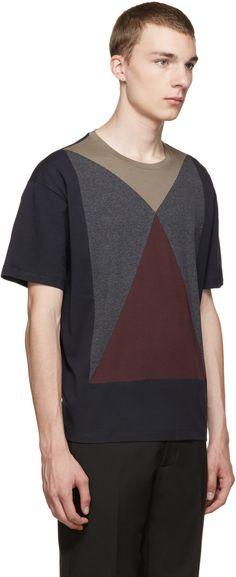 Valentino Multicolor Panel T-Shirt