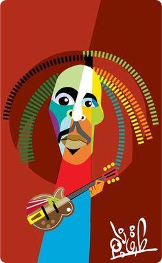 Bob Marley Bob Marley Art, Reggae Bob Marley, Bob Marley Pictures, Robert Nesta, Nesta Marley, Caribbean Art, Weed Art, Bob Morley, Celebrity Caricatures