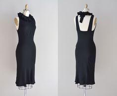 1930s dress / bias 30s dress / Phedre rayon dress. $188.00, via Etsy.