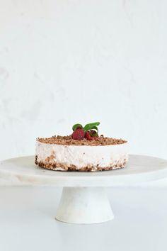 Cheese cake greek youghurt chocolate Healthy