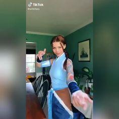 Katara Costume, Avatar Cosplay, Suki Avatar, Avatar Aang, Cute Halloween Costumes, Halloween Cosplay, Korra, Cosplay Outfits, Cosplay Girls