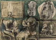 Henry Moore, Mother and Child studies