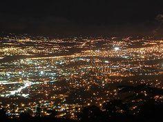 Night View of San José