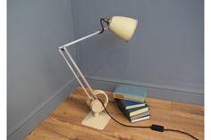Cream Counterpoise Lamp By Hadrill & Horstmann | Vinterior London  #vintage #lighting #design