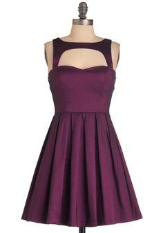 Last Slow Dance Dress in Purple