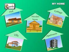 Interesante vídeo de dibujos animados sobre los tipos de viviendas más comunes y los materiales de construcción que requieren. Puede usarse como punto de partida para comprenhension and vocabulary activities.