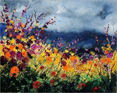 Poster Wildblumen
