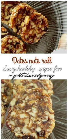 Dates Nuts Rolls Recipe Looking for healthy kids snack or energy bar? Dates roll fits in this category.There are the reasons you are going to love this snack. sugar free has nuts and its very easy. Pastas Recipes, Cooking Recipes, Healthy Recipes, Date Nut Roll Recipe, Granola, Fudge, Date Rolls, Date Recipes, Healthy Sugar