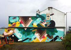 Florence Blanchard et le Feature Walls Festival au UK.