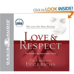 Love & Respect: The Love She Most Desires; The Respect He Desperately Needs, by Dr. Emerson Eggerichs  This book did more for our marriage and relationship than any other book either of us have ever read.  It should be required reading for all humans.  And it doesn't only apply to marriage relationships.  It can be applied to any relationship.