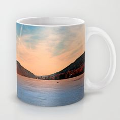 Danube river valley photographic custom design mug Danube River, Ceramic Mugs, Coffee Mugs, Custom Design, Ceramics, Tableware, Photography, Ceramica, Pottery Mugs