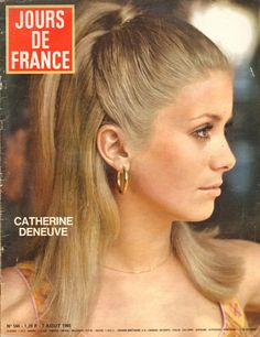 Jours DE France N°560 Catherine Deneuve Gina Lollobrigida Dany Carrel G Casile | eBay