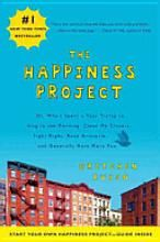 The Happiness Project: Or, Why I Spent a Year Trying to Sing in the Morning, Clean My Closets, Fight Right, Read Aristotle, and Generally Have More Fun. On my list to read soon!