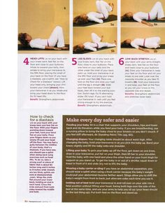 Beautiful After the Belly: ARTICLE IN FIT PREGNANCY - Seated Tuplers, Diastasis, & How to get rid of mommy tummy - POSTPARTUM