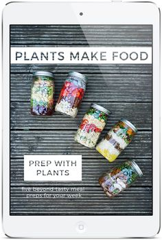 Prep With Plants includes five no sweat meals for your week! Weve carefully crafted meals that dont require crazy cooking skills or hard to find ingredients! Everything is this book is accessible delicious and waiting for you to dig in! #vegetarianism #vegan #vegetarian #diet #spirituality #veganism #ScienceoftheSoul #food #health #Buddhism
