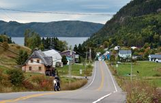 The picturesque village of Sainte-Rose-du-Nord provides one of the few road accesses to the Saguenay Fjord. This area was featured in the September 2013 issue of Rider magazine.