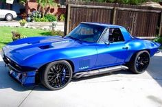 Image result for blue c2 corvette autocross