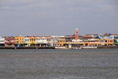 Centro Histórico de Aracaju – Vista da Barra dos Coqueiros.