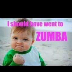 Just say yes to zumba.
