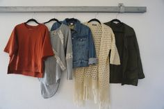 Spring Capsule wardrobe - photos of all her clothes