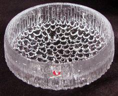 Vintage Iittala Finland Ultima Thule Footed Bowl Tapio Wirkkala Design Art Glass | eBay $9.95