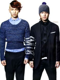 SHINee - GQ Magazine October Issue '10 --- key and taemin
