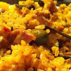 Arroz con Pollo (Puerto Rican chicken with rice)