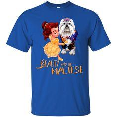 Beauty And The Beast Shirts Beauty And The Maltese T shirts Hoodies Sweatshirts