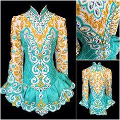 **Kerry Designs**Irish Dance Solo Dress Costume** A little gaudy, but still nice