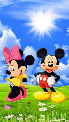 Mickey Mouse & Minnie Mouse