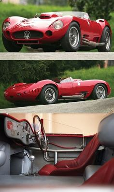 Car Porn: A $7.5 Million 1956 Maserati 450S Prototype By Fantuzzi