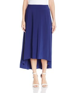 6345002d5 NIC ZOE Womens Luxe Jersey Skirt Abyss Medium -- More info could be found at